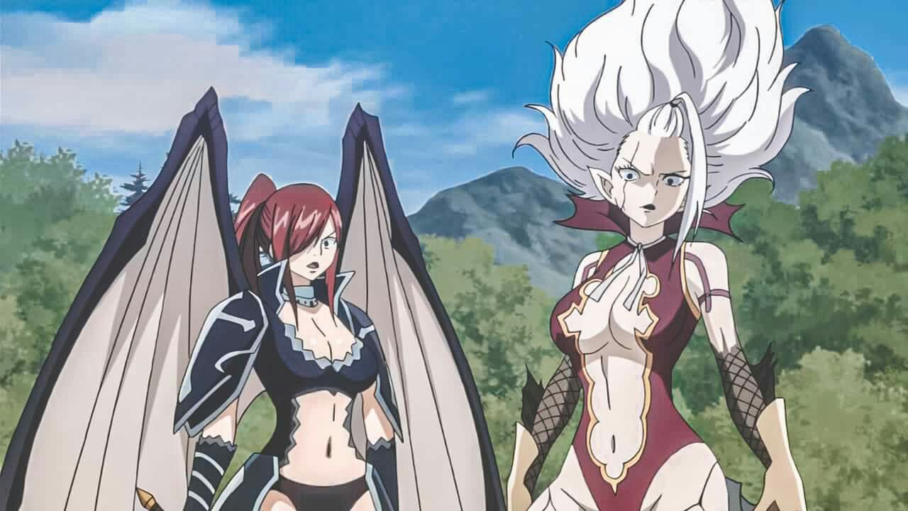 Mirajane Strauss Erza Scarlet In 2020 Anime Fairy Tail Erza Scarlet Find over 100+ of the best free aesthetic images. pinterest
