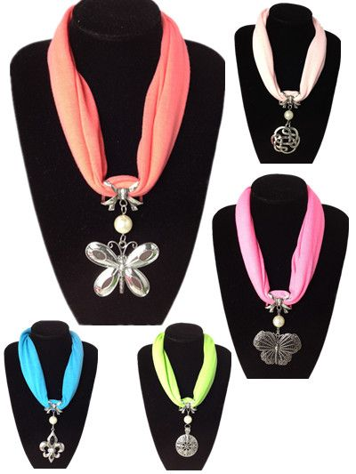 Different style floral pendants attached jewelry scarf cheap different style floral pendants attached jewelry scarf cheap pashmina scarves from jewelryscarfcanada aloadofball Image collections