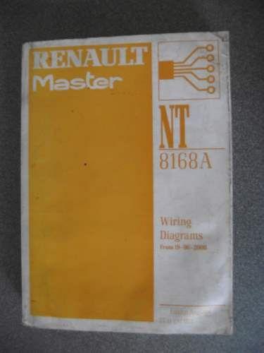 Renault Master Wiring Diagrams Manual 2000 7711297022 NT8168A ...