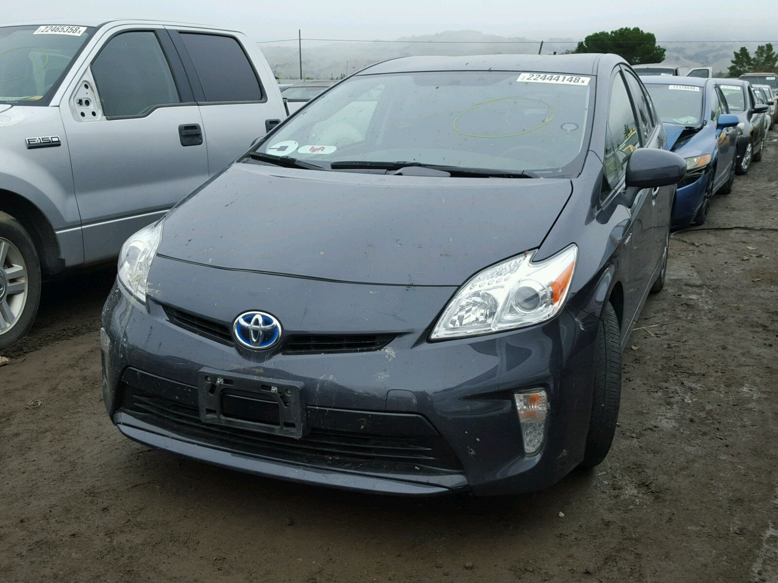 2015 #TOYOTA #PRIUS 1.8L for Sale at #Copart Auto Auction. Bid & Win ...