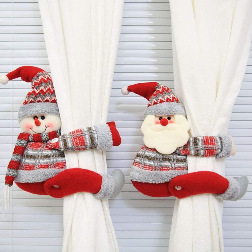 christmas curtain buckle tie back