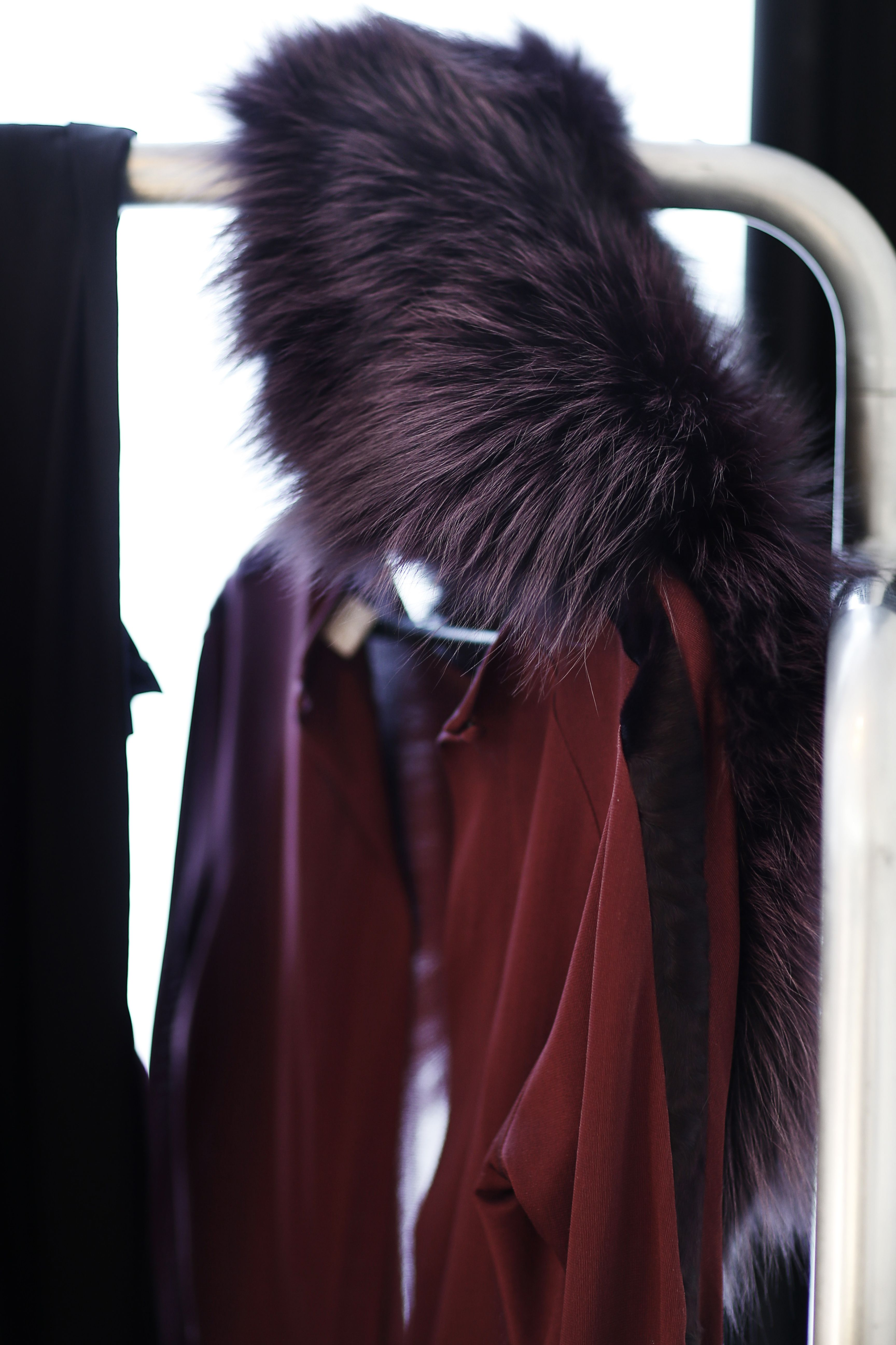 Purple fox collar - Oh! by Kopenhagen Fur
