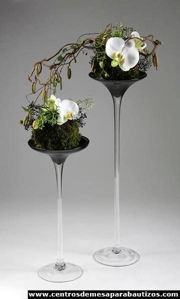 Arreglos y centros de mesa con orquideas naturales Centerpieces - arreglos de mesa