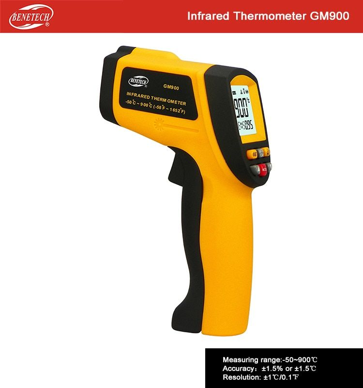 Ryobi IR002 Infrared Thermometer for Checking Cold and Hot Spots in Your Home