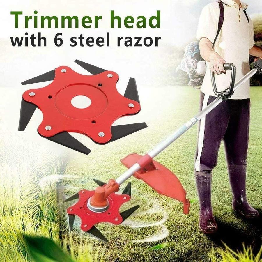 Tredfashions 6 Steel Razors Trimmer Head 2020! in 2020