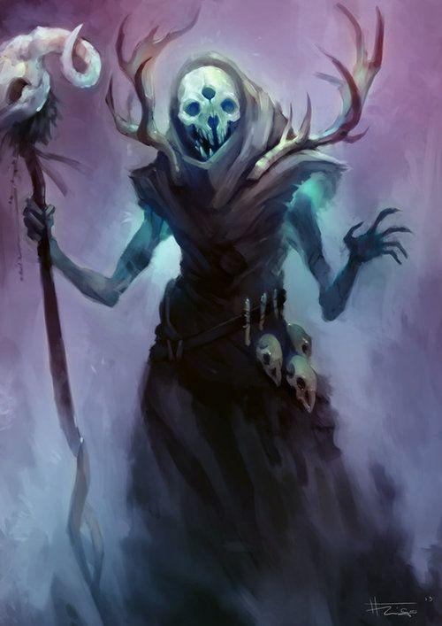 Grim-Masked Shade of the Uskwood -- Pathfinder Druid Feat