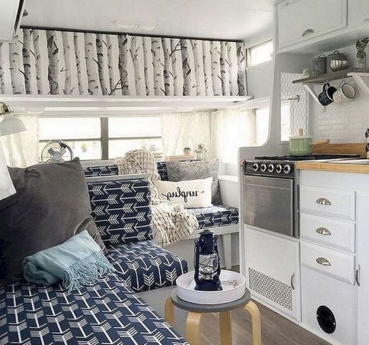 85 Inspiring Rv Campers Interior For Hitting The Road 5b919501dc7b5