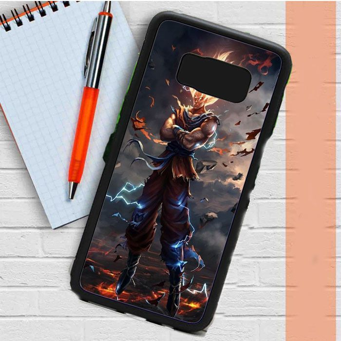 the latest dc83c 38e58 Son Goku Dragon Ball Z- Samsung Galaxy S8 Plus Case Casefreed | Products