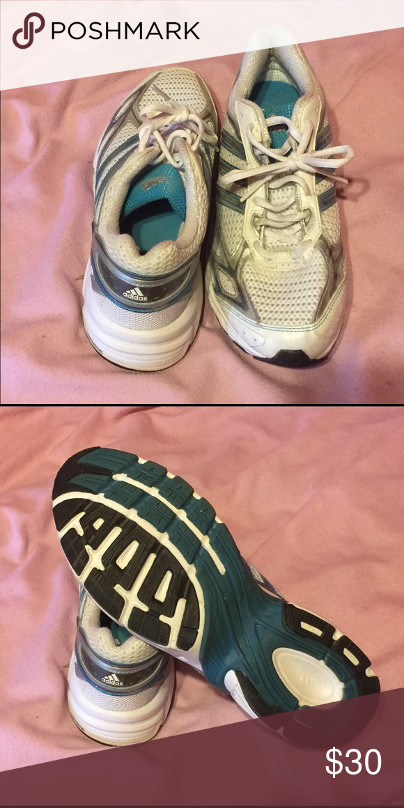 Adidas sneakers 👟 Adidas sneakers worn once still in great condition look new! Adidas Shoes Sneakers