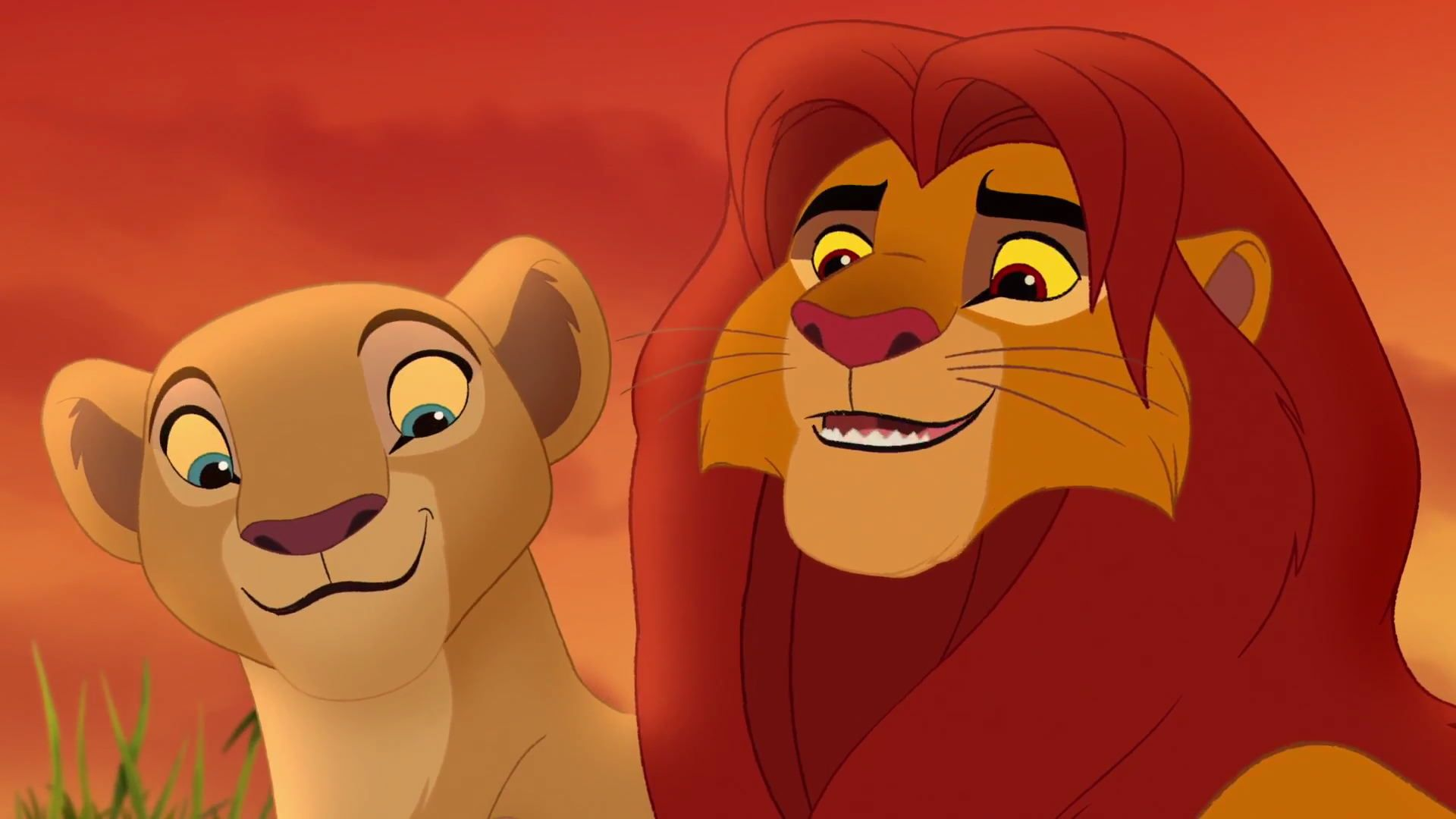 nala and simba meet again someday