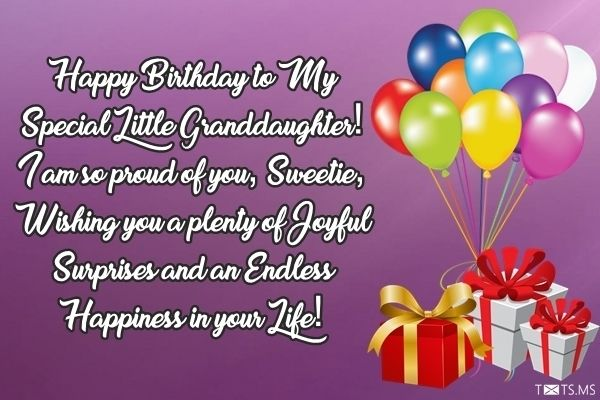 Birthday Wishes For Granddaughter Messages Quotes Images For Facebook Whatsapp Picture Sms Txts Ms Birthday Wishes Birthday Messages Wishes Messages