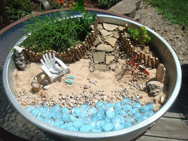 Fairies Need Beach Vacations, Too   So Make A Beach Fairy Garden!
