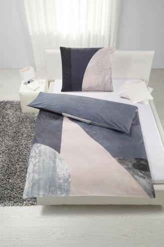 Bettwäsche Aus 100 Baumwolle Renforcé In Der Farbe Graurosa Bl