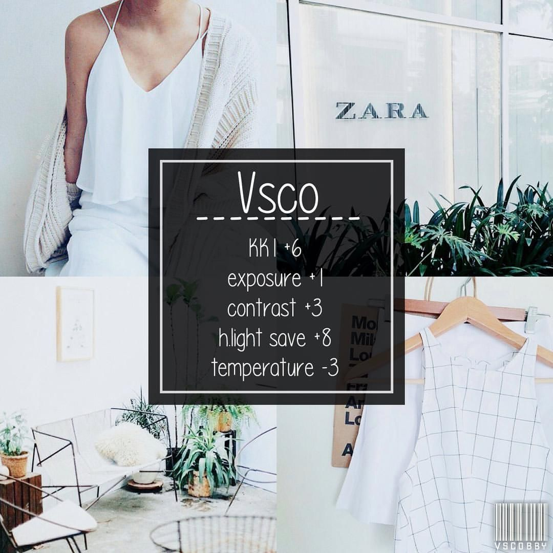 clean and bright filter that really good for anything   VSCO