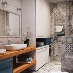 Banheiros minimalistas por Polygon arch&des