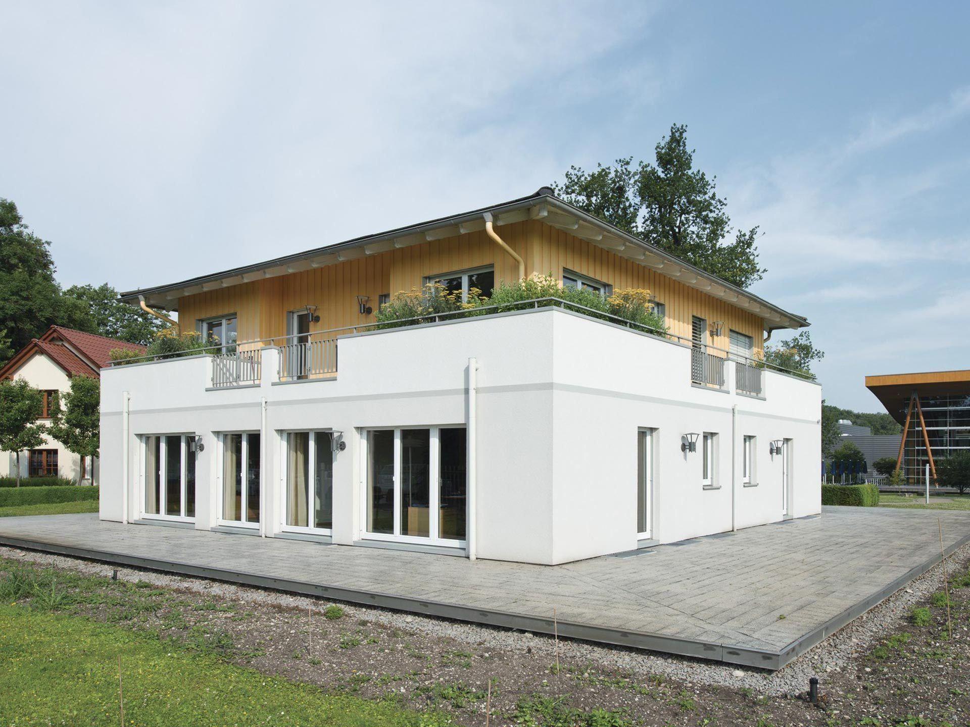 Stadtvilla Bauforum RheinauLinx WeberHaus Weber haus