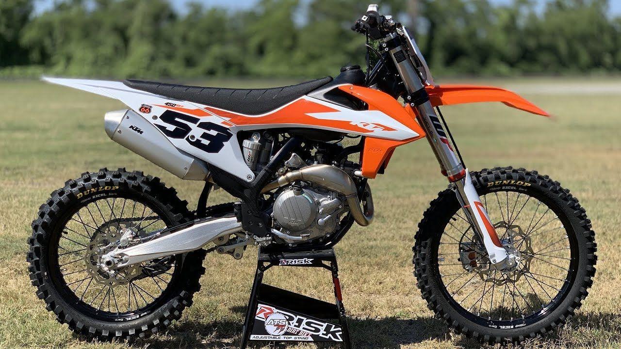2020 Ktm 450sxf Dirt Bike Magazine Dirt Bike Magazine Ktm