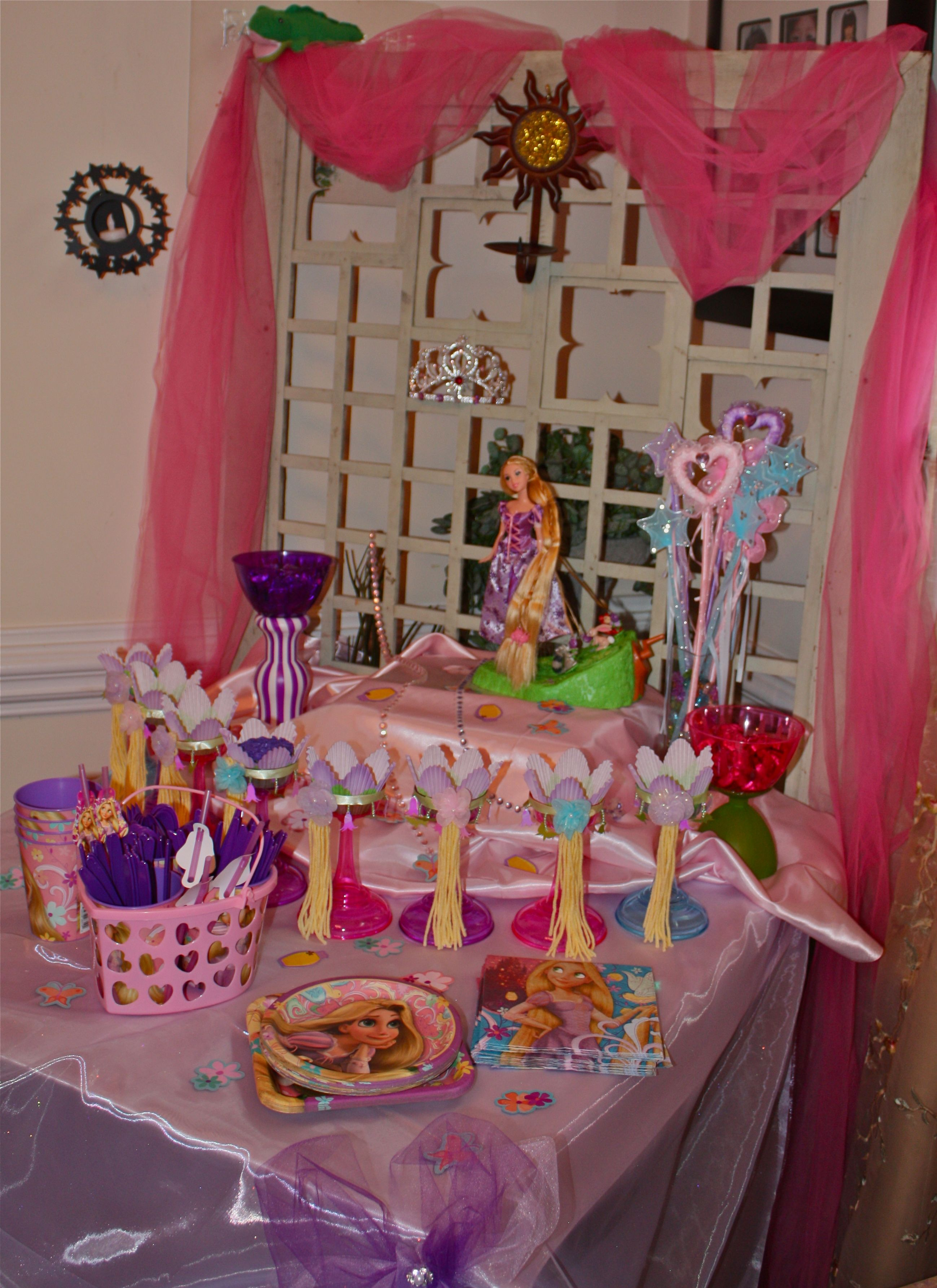 Birthday Party Themes Tangled