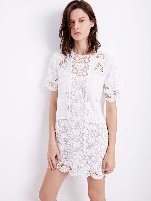 Vestidos Pinterest Mente Blanco Moda Y En Zara Moda AfWwSxaq