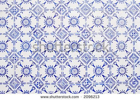 Google Image Result for http://image.shutterstock.com/display_pic_with_logo/51787/51787,1162430889,2/stock-photo-glazed-tiles-with-blue-and-white-simple-pattern-2096213.jpg
