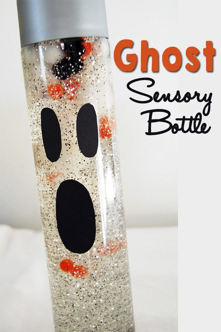 Ghost Sensory Bottle #sensorybottles
