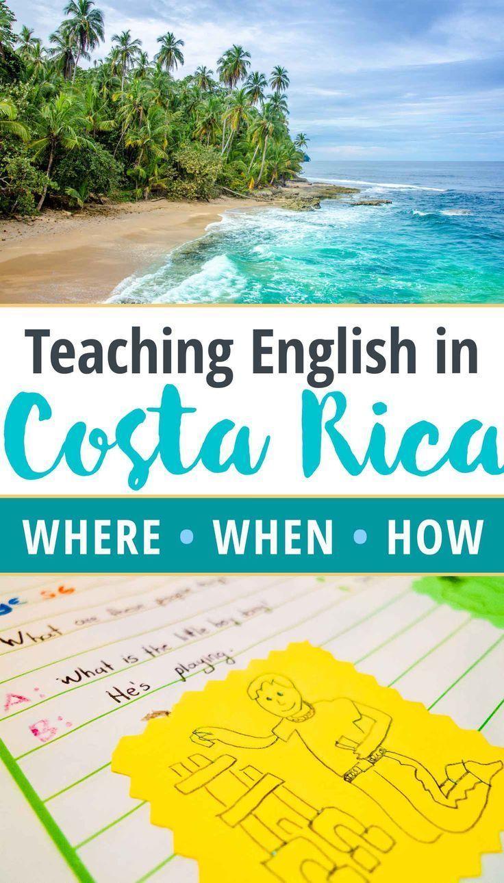 Teaching English in Costa Rica FAQ Where, When, How
