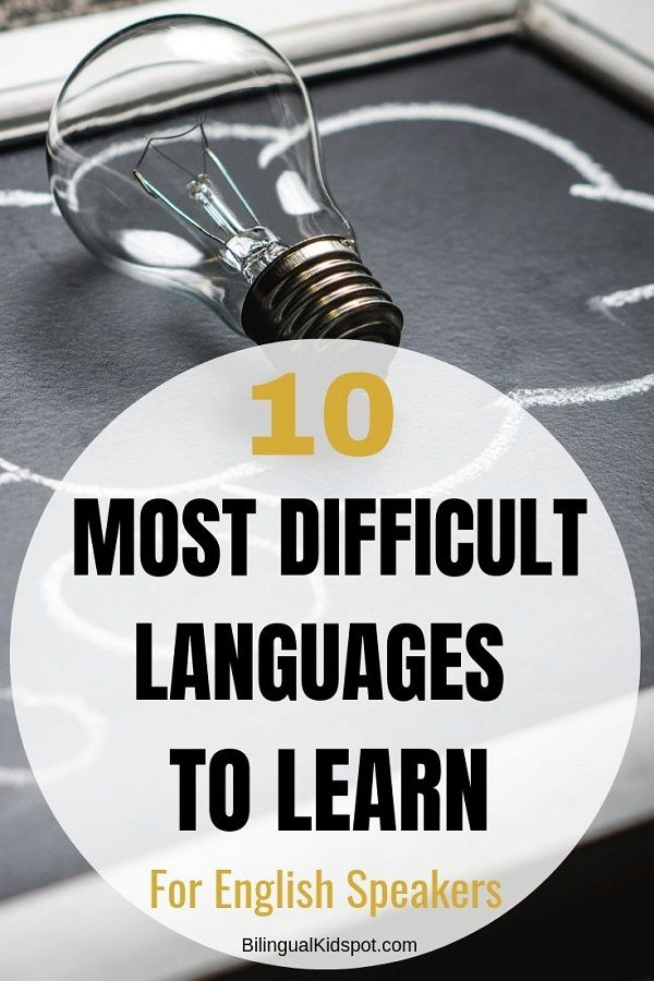 The Top 10 Hardest Languages to Learn for English Speakers