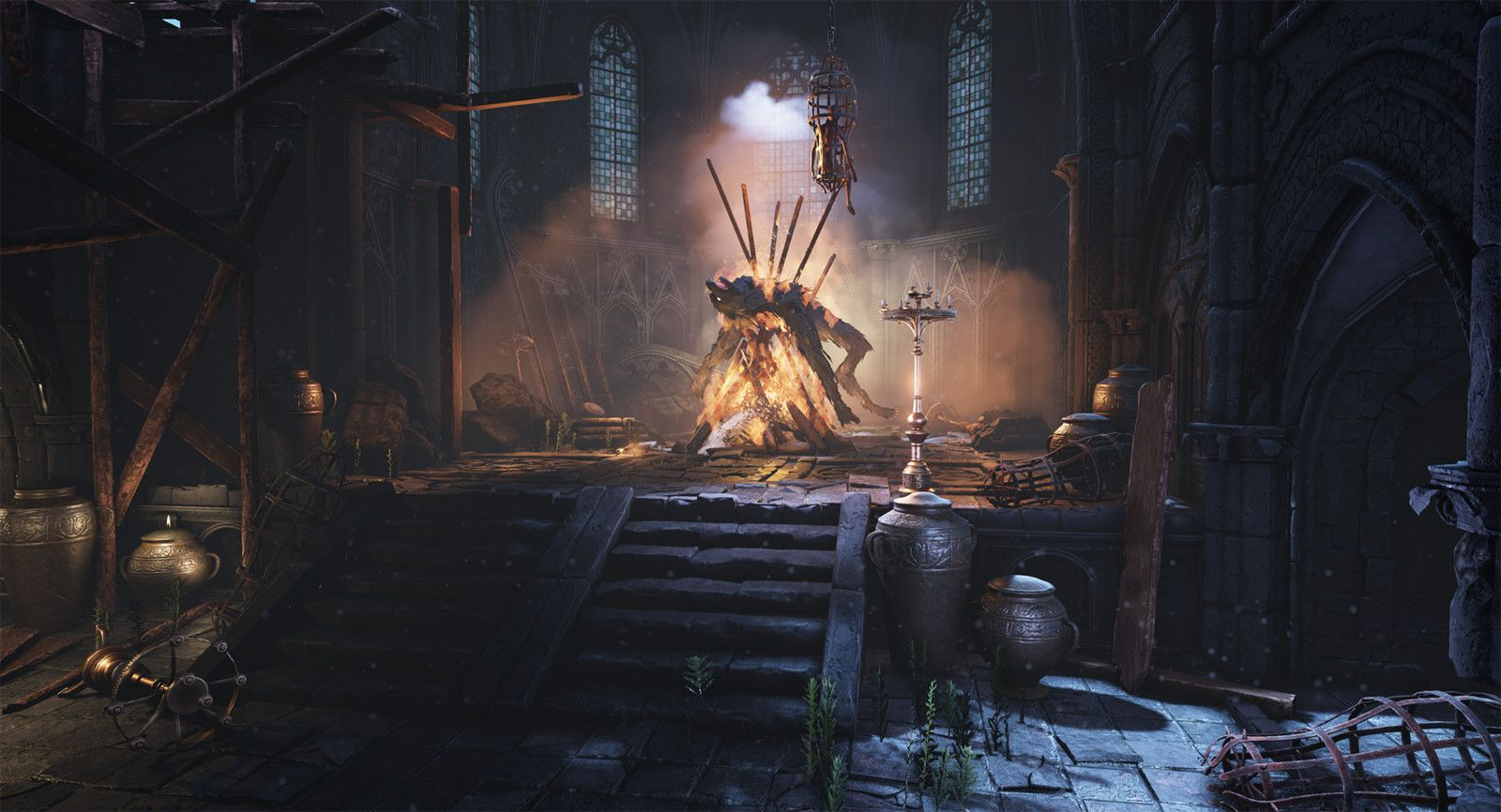Bloodborne inspired environment, Andreas Stavaas on