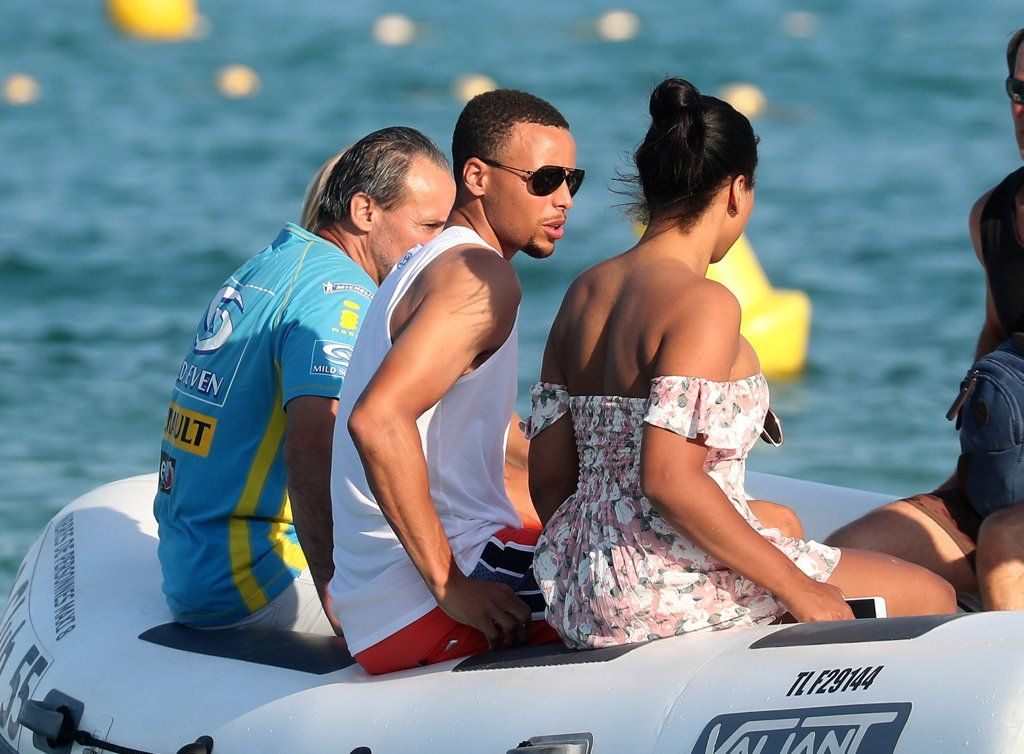 Ayesha and stephen curry celebrate their 5 year wedding ayesha and stephen curry in st tropez july 2016 pictures popsugar celebrity junglespirit Choice Image