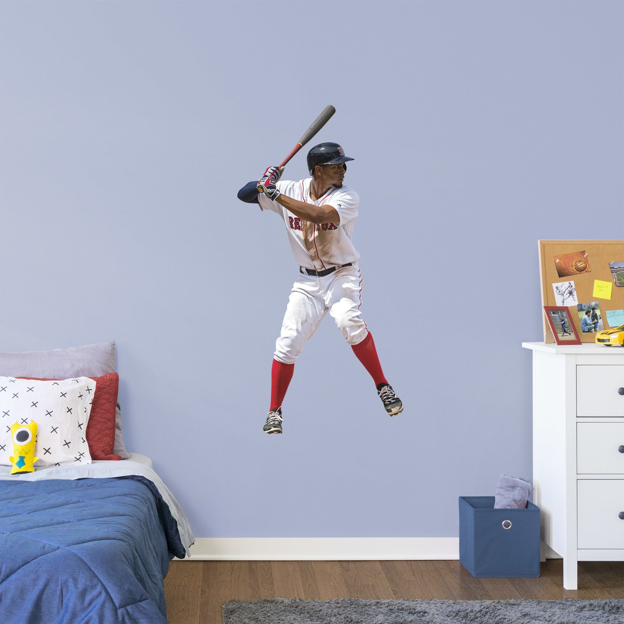 Xander Bogaerts Giant Officially Licensed Mlb Removable Wall