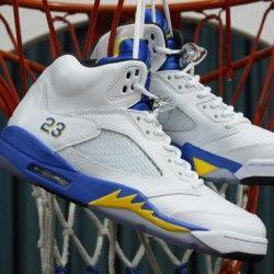 """buy popular 54ae4 19342 Jordan Shoes · Jordans Sneakers · Air Jordans · Giveaway · Channel · Air  Jordan · Air Jordan 5 """"Laney"""" (on sale) from www.marsportshop.com"""