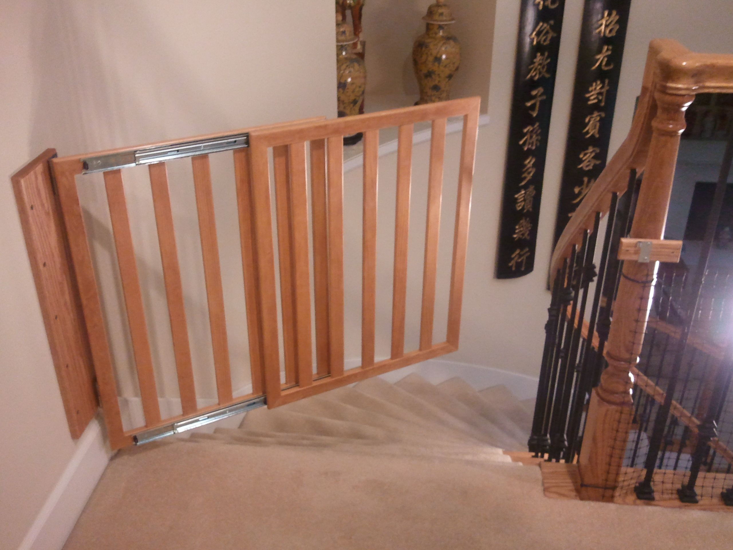download free baby gate plans  wooden baby gates baby gates and  - download free baby gate plans