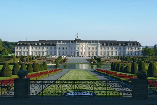 Cute Ludwigsburg Fairytale Palace and Gardens