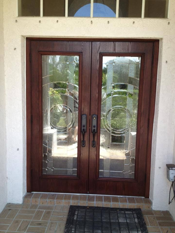 Odl Entropy Door Gl In Stained Woodgrain Fibergl Doors Solid Entry