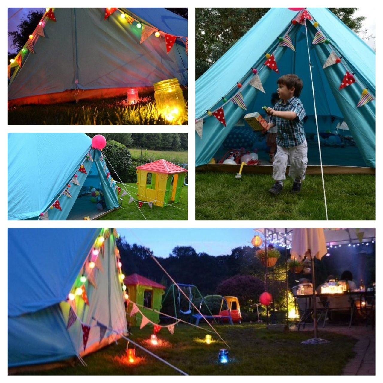 Camping Theme Party, Camping