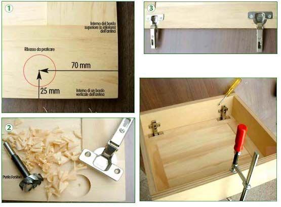 come assemblare e montare ante prefinite in legno in faidate ...