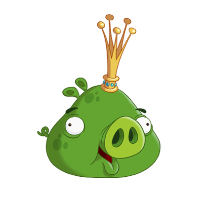 King Pig Angry Birds Characters Angry Birds Pigs Angry Bird Pictures