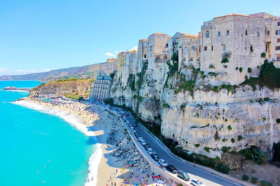 Tropea an der Costa degli dei ist das touristische Herz