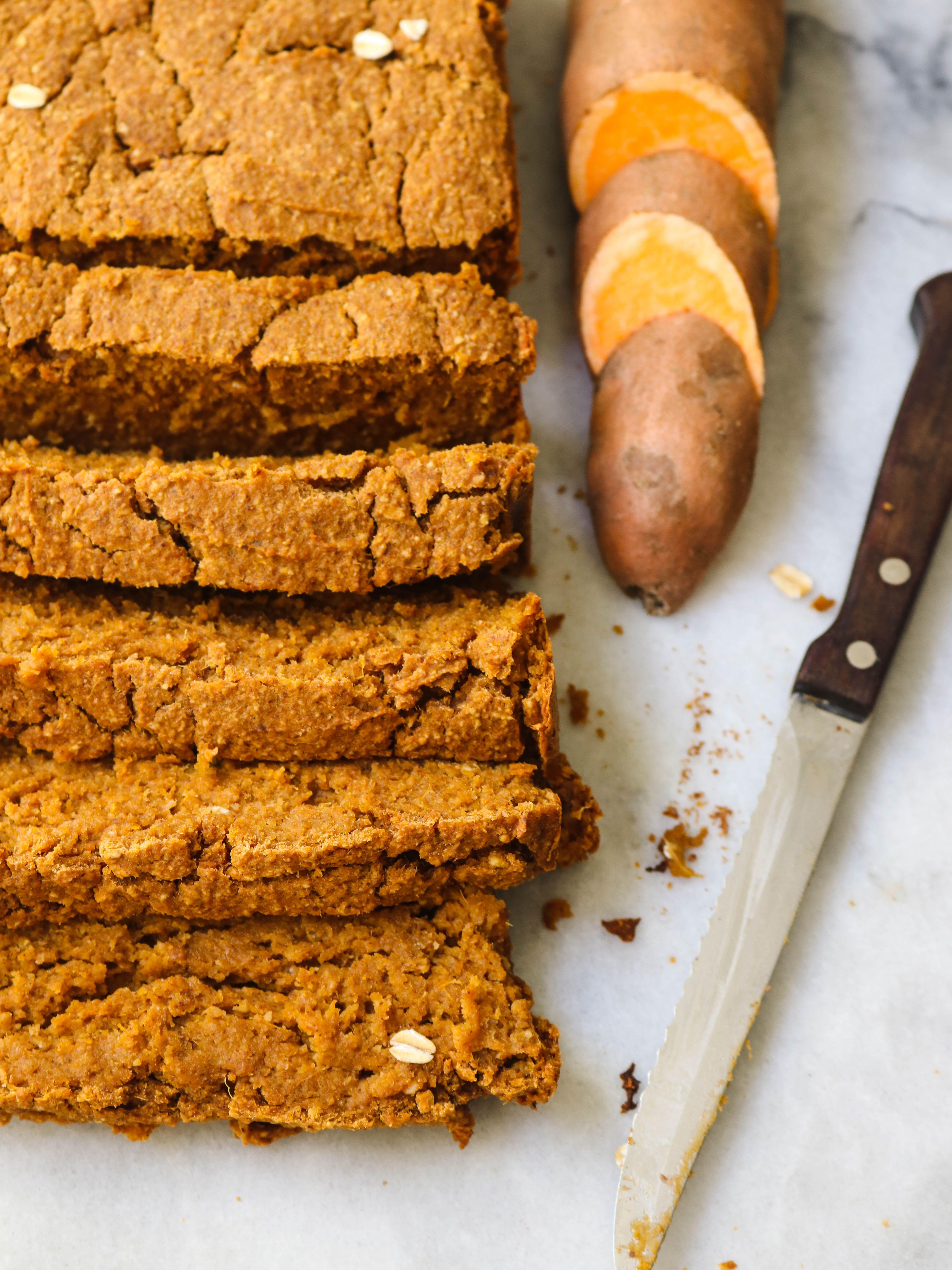 Sweet Potato Bread Gluten Free & Vegan Recipe Sweet