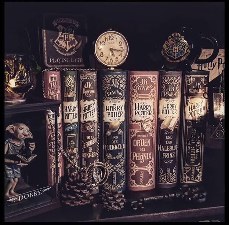 Harry Potter by J.K. Rowling | Bøger, Ya bøger, Læsning