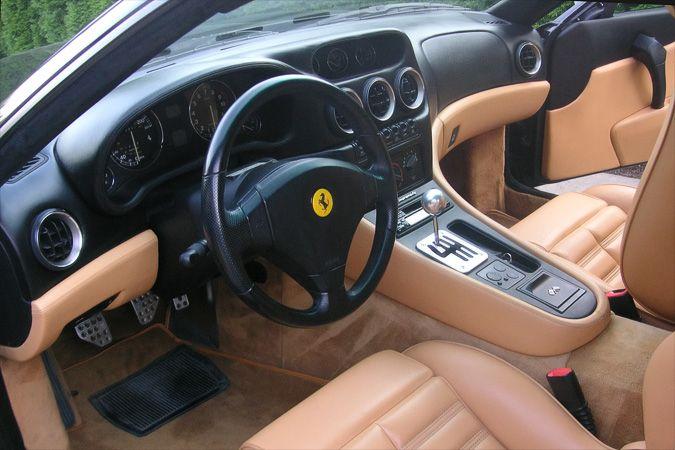 Ferrari F550 Maranello Interior Ferrari Maranello Interior
