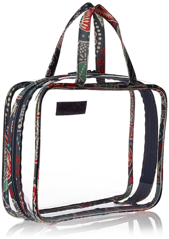 Vera Bradley Luggage Women's FourPiece Cosmetic Organizer