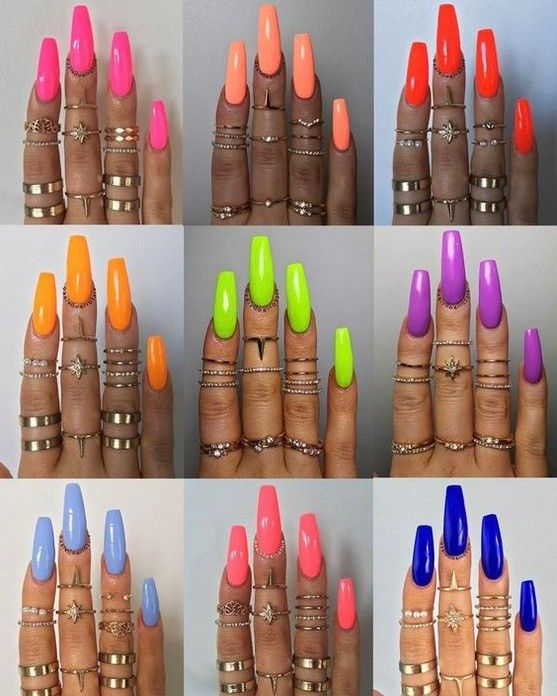 82 Best Cutest Acrylic Nails Ideas For This Summer 2019 – Page 55 of 82