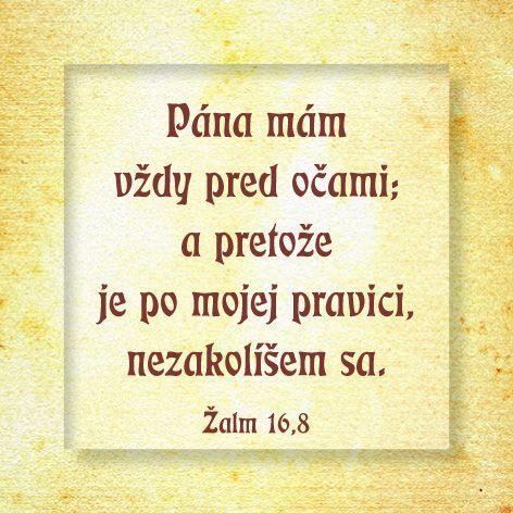 Žalm 16,8