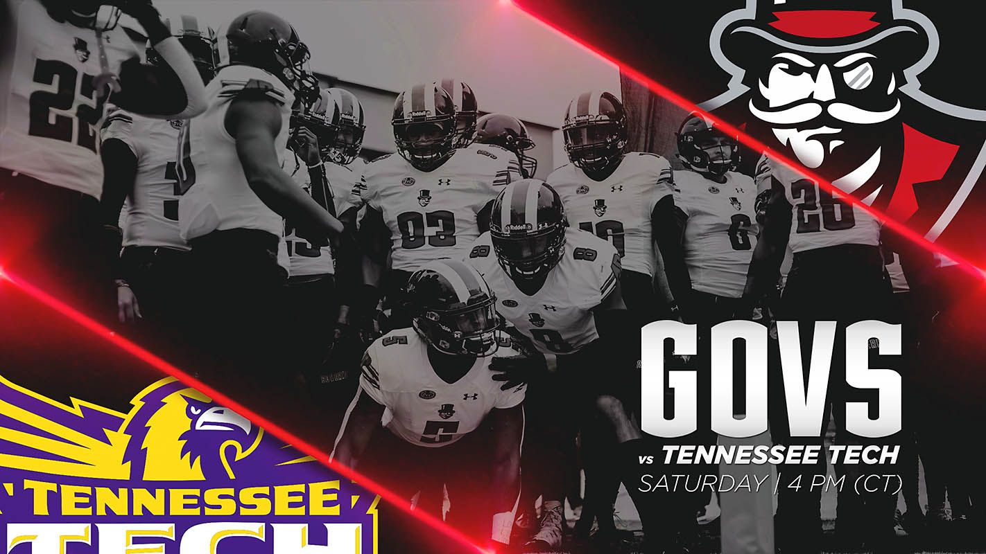 APSU Peay Football plays Tennessee Tech for at