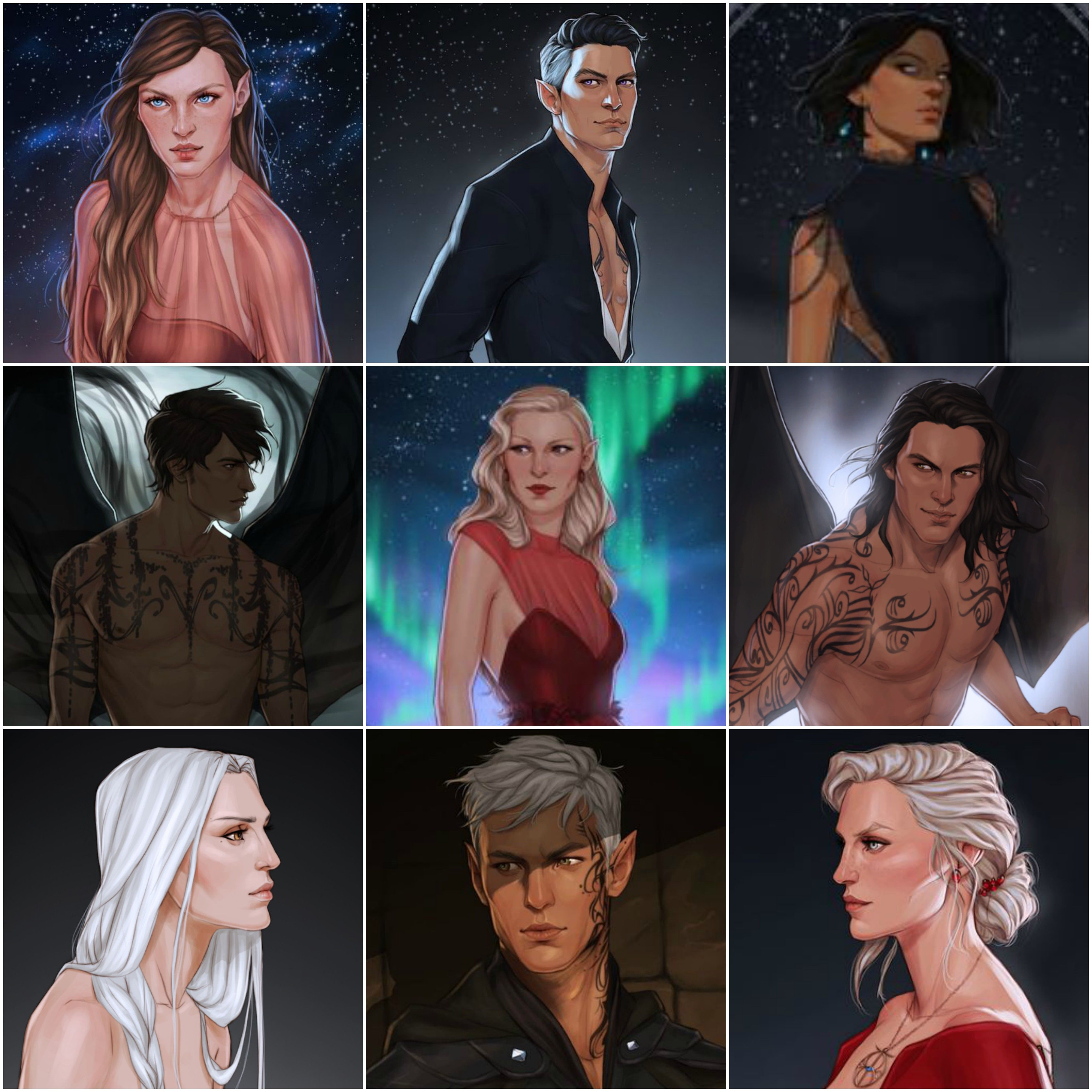 My Favourite Characters Of Throne Of Glass And A Court Of Mist And