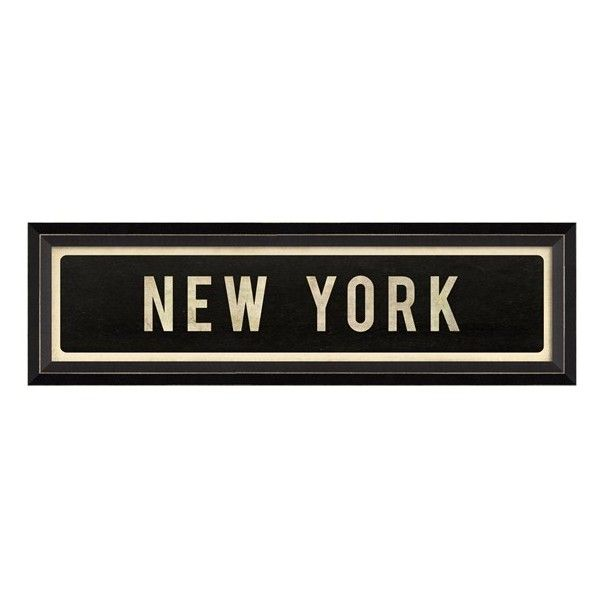 Street Sign Home Decor Classy Spicher And Company 'new York' Vintage Look Street Sign Artwork Decorating Inspiration