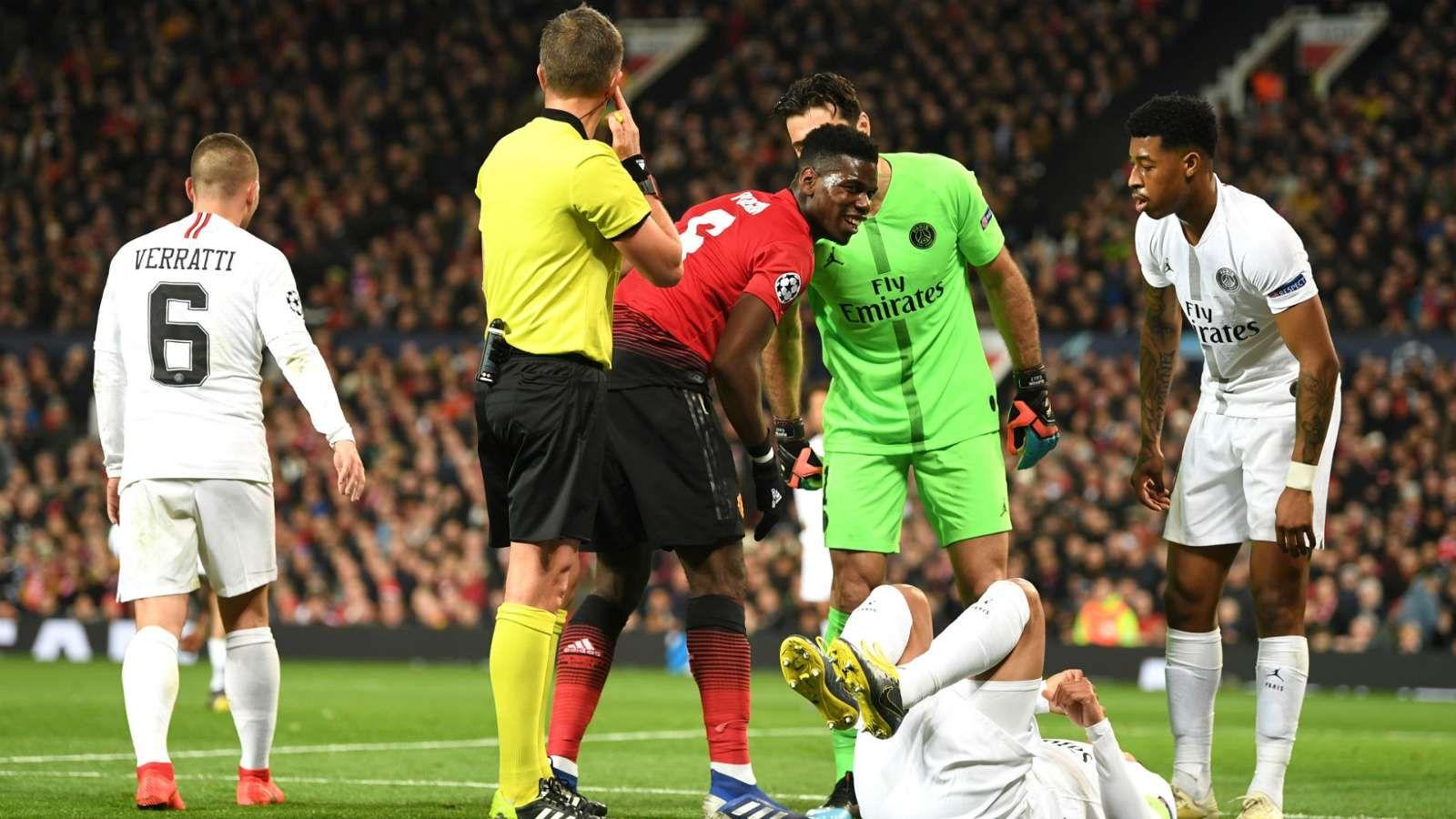 MANCHESTER UNITED 0 VS PSG 2 HIGHLIGHTS & ALL GOALS. Paul Pogba was sent  off as Paris Saint-Germain won 2-0 at Manchester Un… | Manchester united,  Manchester, Psg