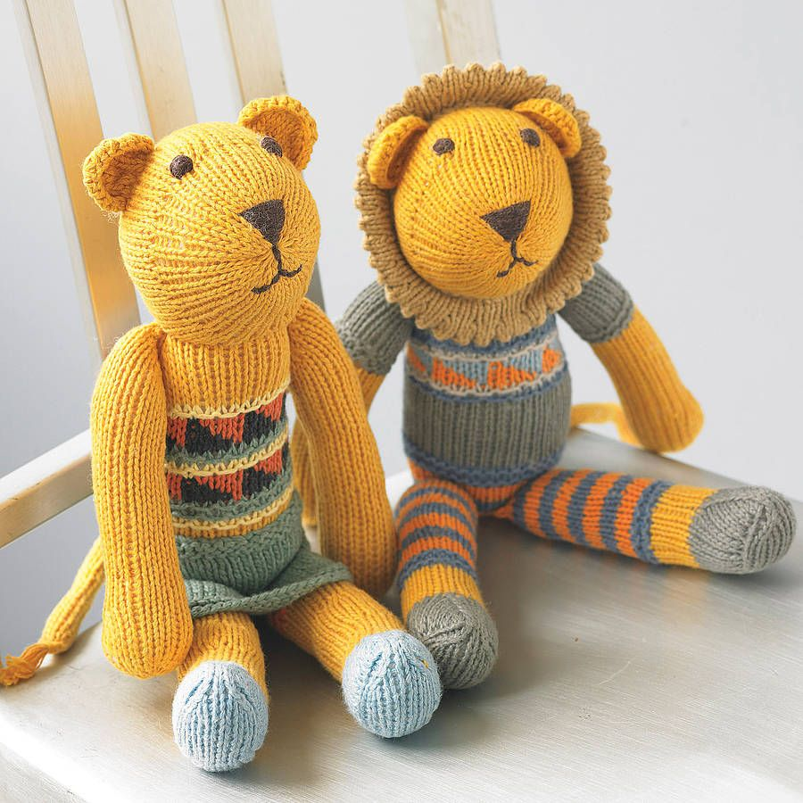 Hand knitted lion soft toy by chunkichilli notonthehighstreet hand knitted lion soft toy by chunkichilli notonthehighstreet samantha sims here is bankloansurffo Image collections