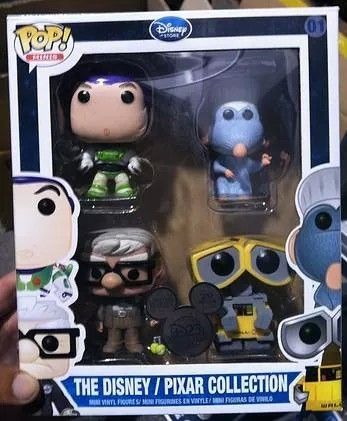 Upcoming pop in a box competition, Rare exclusive Funko POP set only 200 made. This POP set contains POP! Vinyl Remy and is the only way you can obtain him.
